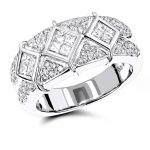 14K Gold Designer Diamond Rings Collection Item 1.37ct