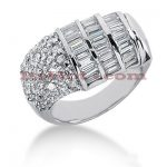 14K Gold Ladies Diamond Ring 2.14ct