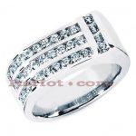 14K Gold Men's Diamond Ring 1.10ct