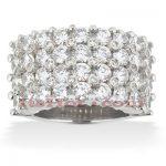 14K Gold Mens Diamond Ring 5.64ct