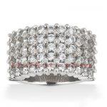 14K Gold Men's Diamond Ring 5.80ct