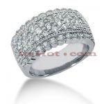 14K Gold Round Diamond Ladies Ring 1.23ct
