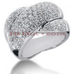 14K Gold Round Diamond Ladies Ring 2.05ct