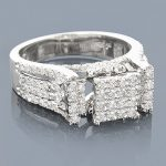 14K Pre-Set Diamond Engagement Ring 1.64ct