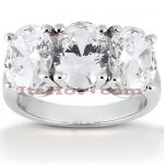 Thin 18K Gold Diamond Engagement Ring Mounting 1ct