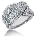 18K Gold Round Diamond Ladies Ring 1.90ct