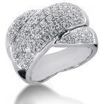 18K Gold Round Diamond Ladies Ring 2.05ct