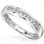 Diamond Band 1/3 carat (ctw) in 14kt White Gold