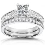 Diamond Wedding Set 4/5 carat (ctw) in 14k Gold