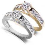 Round Brilliant Diamond Engagement Ring 1 1/5 Carat (ctw) in 14k Gold