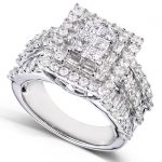 Diamond Engagement Ring 2 carats (ctw) in 14K Gold