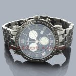 Black Diamond Watches: Joe Rodeo Mens Diamond Watch 3.5