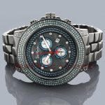Blue Diamond Watches: Joe Rodeo Pilot Mens Watch 3.15ct