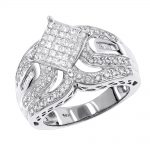 Diamond Engagement Rings 14K Ladies Diamond Ring 1.60ct