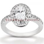 Diamond Platinum Engagement Ring 1.26ct