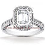 Diamond Platinum Engagement Ring 2ct