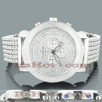 Iced Out Watches for Men: ICETIME Diamond Watch 8ct