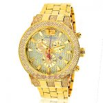 Joe Rodeo Broadway Yellow Mens Diamond Watch 5ct