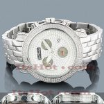 Joe Rodeo Diamond Bezel Jojo Watch 3.50ct Black Dials