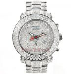 JOE RODEO Diamond Watches: Fully Iced Out Mens Watch 25.50ct