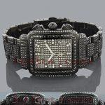 Joe Rodeo Madison Black Diamonds Watch 13.5ct