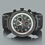 Joe Rodeo Master Mens Diamond Watch 2.20ct Black