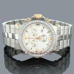 Joe Rodeo Phantom Mens Diamond Watch 3.25ct Swiss Made