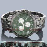 Joe Rodeo Watches: Green Diamonds Watch for Men 3.50t Classic