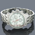 JoJo Joe Rodeo Mens Diamond Watch 1.75ct White MOP