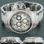 JoJo Joe Rodeo Razor Mens Diamond Watch 22ct White