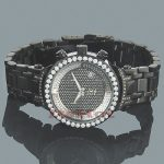 Ladies Joe Rodeo Diamond Watch 2ct Black