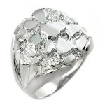 Men's Bold Ring in Sterling Silver