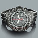 Mens Diamond Watch by Joe Rodeo: Pilot Model 3.15ct