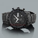 Mens Diamond Watch by JoJino Watches Collection 1.05ct Black