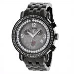 Mens Diamond Watches: Joe Rodeo Tyler Watch 2ct Black