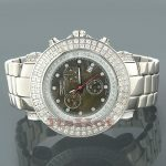 Mens JoJo Watch Joe Rodeo Junior Diamond Watch 4.75ct