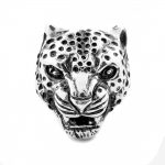 Men's Tiger Ring in Sterling Silver