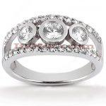 Platinum Diamond Engagement Ring 2.64ct