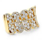 Right Hand Rings: 14k Gold Diamond Ring For Women 2.2ct