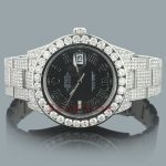 Rolex Oyster Perpetual DateJust Diamond Watch for Men 20.41ct Custom