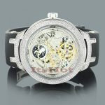 Skeleton Watches: Joe Rodeo Master Mens Diamond Watch 2.20ct