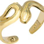 Snake Toe Ring in 9ct Gold