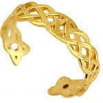 Trinity Toe Ring in 9ct Gold