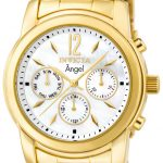 Invicta Angel Swiss Movement Quartz Watch – Gold case with Gold tone Stainless Steel band – Model 0465