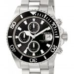Invicta Pro Diver Quartz Watch – Stainless Steel case Stainless Steel band – Model 1003