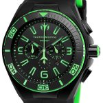 TechnoMarine Cruise Night Vision 46.65mm watch with + Silicone Black Black dial FS23 Quartz – Model 115057