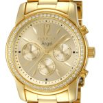 Invicta Angel Swiss Movement Quartz Watch – Gold case with Gold tone Stainless Steel band – Model 11770