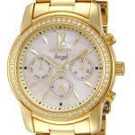 Invicta Angel Swiss Movement Quartz Watch – Gold case with Gold tone Stainless Steel band – Model 11772