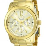 Invicta Angel Swiss Movement Quartz Watch – Gold case with Gold tone Stainless Steel band – Model 12551