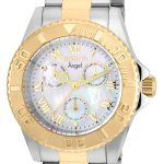 Invicta Angel Women's Quartz Stainless Steel, Gold Case, White Dial – 17526